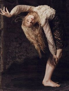 Elle Fanning by Inez and Vinoohd for W magazine