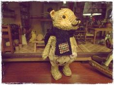 Papier mache. My bear by Feltro em Casa! :o)