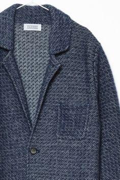Closed | Wool-Mohair Jacquard Blazer | Shop