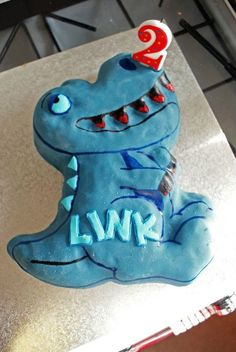 Dinosaur Cake Topper Dinosaur cake toppers Dinosaur cake and Cake