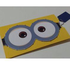 Convite Envelope Minions - Mania de Personalizar