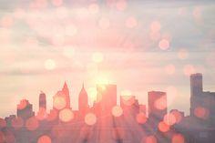 NYC sparkles.