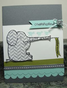 Klompen Stampers (Stampin' Up! Demonstrator Jackie Bolhuis): Henry says CONGRATULATIONS