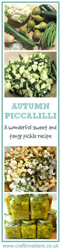 Piccalilli is a pickle made from chopped vegetables, mustard, and hot spices.This version is both sweet and tangy, and absolutely delicious - full, easy to follow recipe.