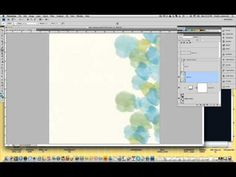 Digital Scrapbook Tutorial - Using Watercolor Brushes Chelle's Creations