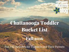 Chattanooga Toddler Bucket List: Fall 2016