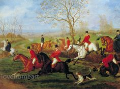 museum quality handpainted hunting oil painting E B Herberte Cross Country oil painting reproduction for home decor wall art or gift Horse Oil Painting, Oil Painting Reproductions, Any Images, Home Decor Wall Art, Hunting, Things To Come, Museum, Hand Painted, Simple
