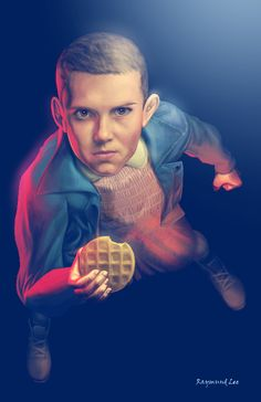 Waffles by Raymund Lee. ❣Julianne McPeters❣ no pin limits Stranger Things Tv Series, Bobby Brown Stranger Things, Stranger Things Aesthetic, Stranger Things Funny, Stranger Things Netflix, Duffer Brothers, Stranger Danger, Cool Artwork, Amazing Artwork