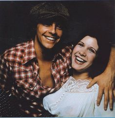 Young Mark Hamill & Carrie Fisher https://www.facebook.com/itsmarkhamill?fref=photo