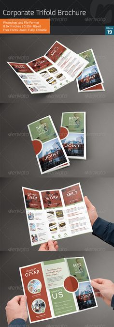 Corporate Trifold Brochure V19