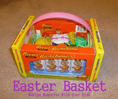 DIY: Edible Easter Baskets Tutorial...what a great idea, this is so cute!!