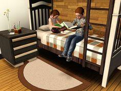 Clutter&Curiosimty - Sofa-Rug #Sims3
