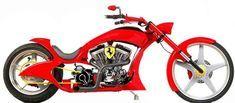 Ferrari bike created for a private client http://www.designbyjoyce.com/pauljr/ferrari_bike.html
