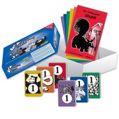 """The Reading Game - Educational - MaxiAids  Memory cards & storybooks make learning to read fun Gives students a reading vocabulary of 180 words For 2 players, ages 4 and up Includes: 6 decks of memory cards, 6 storybooks & Parent/Teacher Guide Measurements: 9.25"""" x 6.75"""" x 2.125"""""""