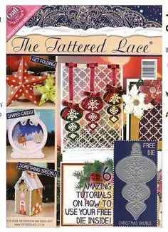Image result for tattered lace 2015 christmas issue