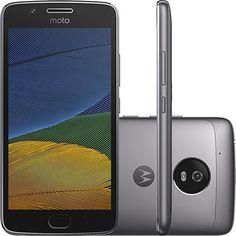 Smartphone Moto G 5 Dual Chip Android 7.0 Tela 5 32GB 4G Câmera 13MP - Platinum