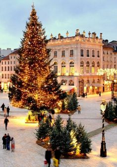 Christmas in Nancy, France