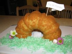 His Mercy is New: Our Tomb Cake, from http://www.mercyisnew.com