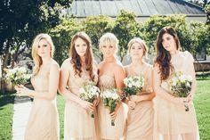 Chic champagne bride