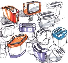 Sketch-A-Day: Daily Sketches from Industrial Designer, Spencer Nugent - Page 398