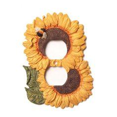 sunflower kitchen decor | Sunflower Decorations For Kitchen Tiffany bedroom