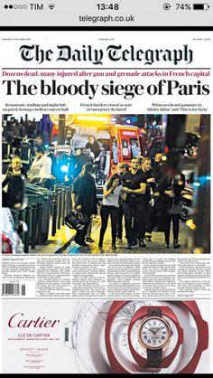 Paris attacks newspaper covers