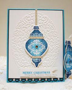 Stampin' Up Ornament Keepsakes