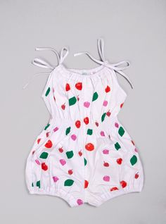 Couverture and The Garbstore » Fruit Jada Sunsuit- Wovenplay