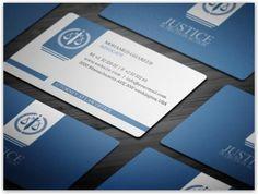 Esempi di business card per avvocati e studi legali