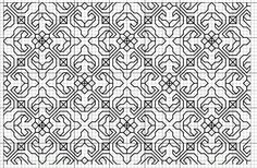 blackwork embroidery free patterns | fill pattern please click to enlarge single element of fill pattern ...