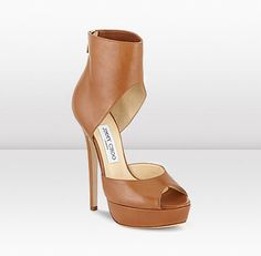 Nappy Leather Platform Sandas by Jimmy Choo...I have to have these!!