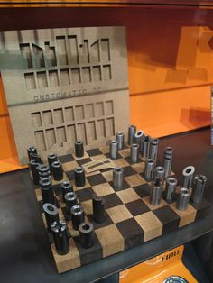 Customatic chess set