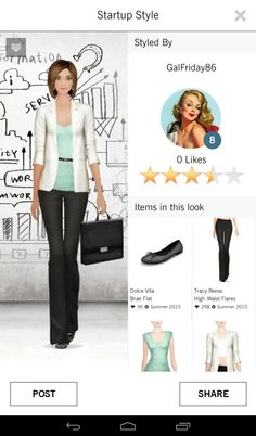 Covet Fashion: Startup Style