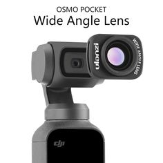 13d64bfd096 Ulanzi OP-5 0.65X Wide Angle Lens for Dji Osmo Pocket Gimbal Accessoies  Magnetic
