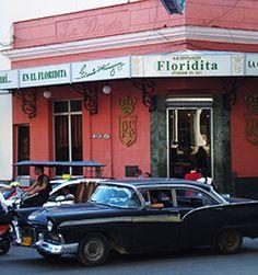 Floridita, la Habana, Cuba