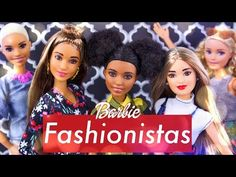 (1) Unbox Daily: Barbie Fashionista MEGA HAUL   Petit   Curvy   Tall   ALL New Hair Styles & Fashion - YouTube