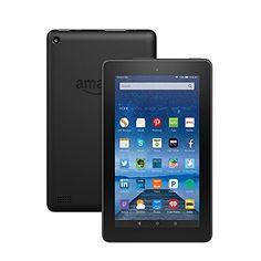 "Fire Tablet, 7"" Display, Wi-Fi, 8 GB - Includes Special Offers, Black, http://www.amazon.com/dp/B00TSUGXKE/ref=cm_sw_r_pi_s_awdm_GQnDxbY2R89NZ"