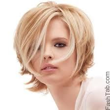 best haircut for triangle face - Google Search