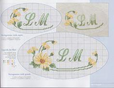 Cross Stitch Alphabet, Cross Stitch Charts, Cross Stitch Patterns, Embroidery Patterns, Hand Embroidery, Tunisian Crochet Patterns, Bargello, Cross Stitch Flowers, Hobbies And Crafts