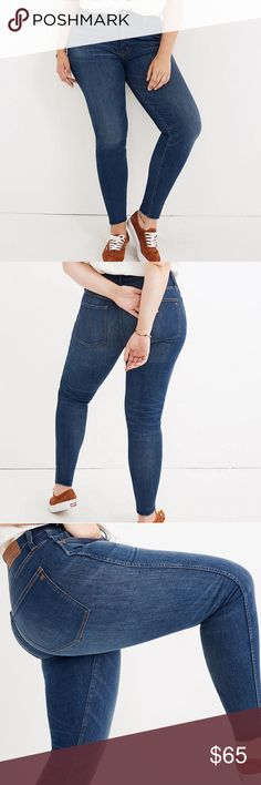 NWT MADEWELL Skinny High Rise Jeans Petite 33 -F11 New with Tag Gorgeous Madewel... - #F11 #Gorgeous #High #highwaistjeanspetite #Jeans #Madewel #Madewell #NWT #petite #Rise #Skinny #Tag - #HighWaistJeans Plus Fashion, Fashion Tips, Fashion Trends, High Rise Jeans, Stretchy Material, Madewell, Skinny Jeans, Hem Jeans, High Waist