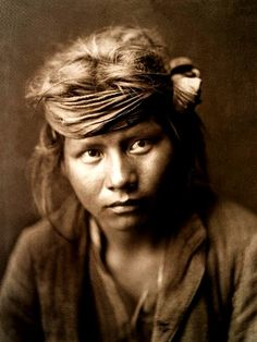 Navajo boy. c. 1904. Photographed by Edward S. Curtis. No date.