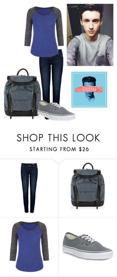 """Troye Sivan"" by ak-hamilton ❤ liked on Polyvore featuring Anine Bing, Diesel, maurices, Vans and trxye"