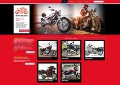 Moto's Kevin - ontwerp en programmatie website. www.motoskevin.be Website, Movie Posters, Movies, Art, Art Background, Films, Film Poster, Kunst, Cinema