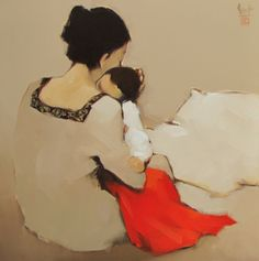Mother and Child 01 - Nguyen Thanh Binh