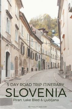 A complete 5 day road trip in Slovenia. An itinerary for how to see Piran, Lake Bled and Ljubljana. What to see and where to stay in Slovenia. Visit Slovenia, Slovenia Travel, Cruise Travel, Solo Travel, Visit Jamaica, Bohinj, Europe Holidays, Road Trip Hacks, Road Trips