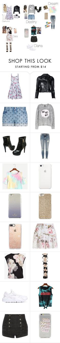 """""""Untitled #71"""" by princesscouture1229 on Polyvore featuring Samya, R13, STELLA McCARTNEY, Louis Vuitton, River Island, Converse, Kate Spade, Michael Kors, Casetify and Zimmermann"""