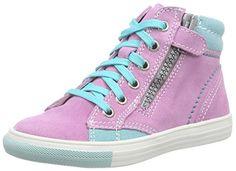 Richter Kinderschuhe Fedora, Mädchen Hohe Sneakers, Pink (candy/jade 3111), 33 EU - http://on-line-kaufen.de/richter-kinderschuhe/33-eu-richter-kinderschuhe-fedora-maedchen-hohe-2