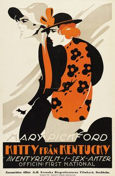 Heart 'O the Hills, Sweden 1919. Silent movie posters from around the world