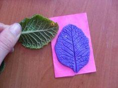 Самодельный молд листка