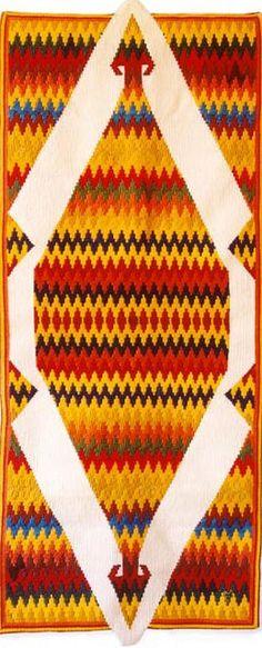 H'Africa 230 x 120 cm Tapisserie de haute lice